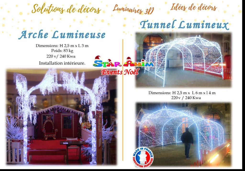 Arche lumineuse 3D