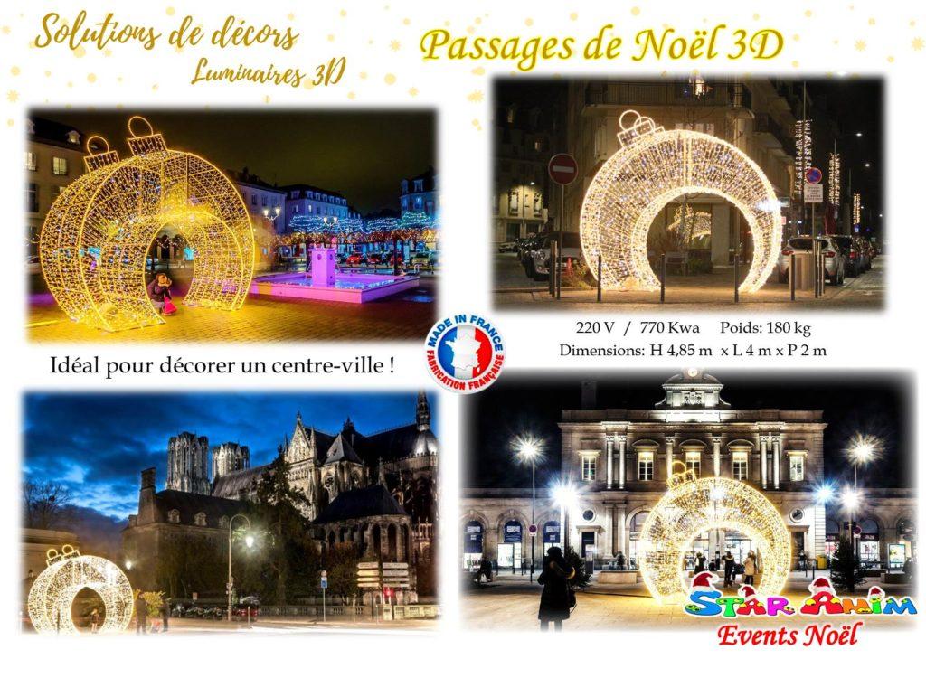 Passages de Noel 3D