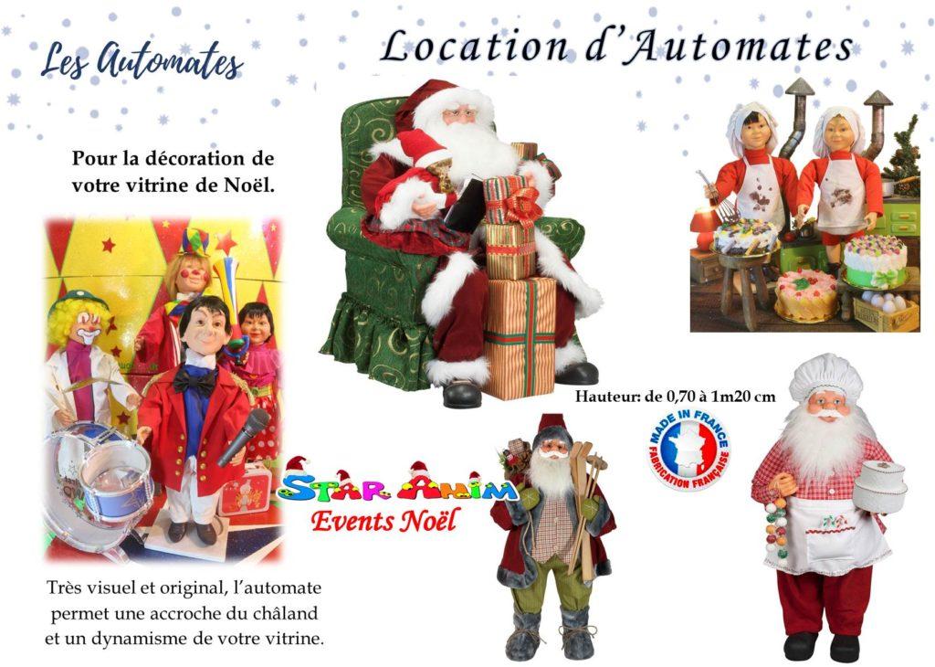 locations d'automates de décoration