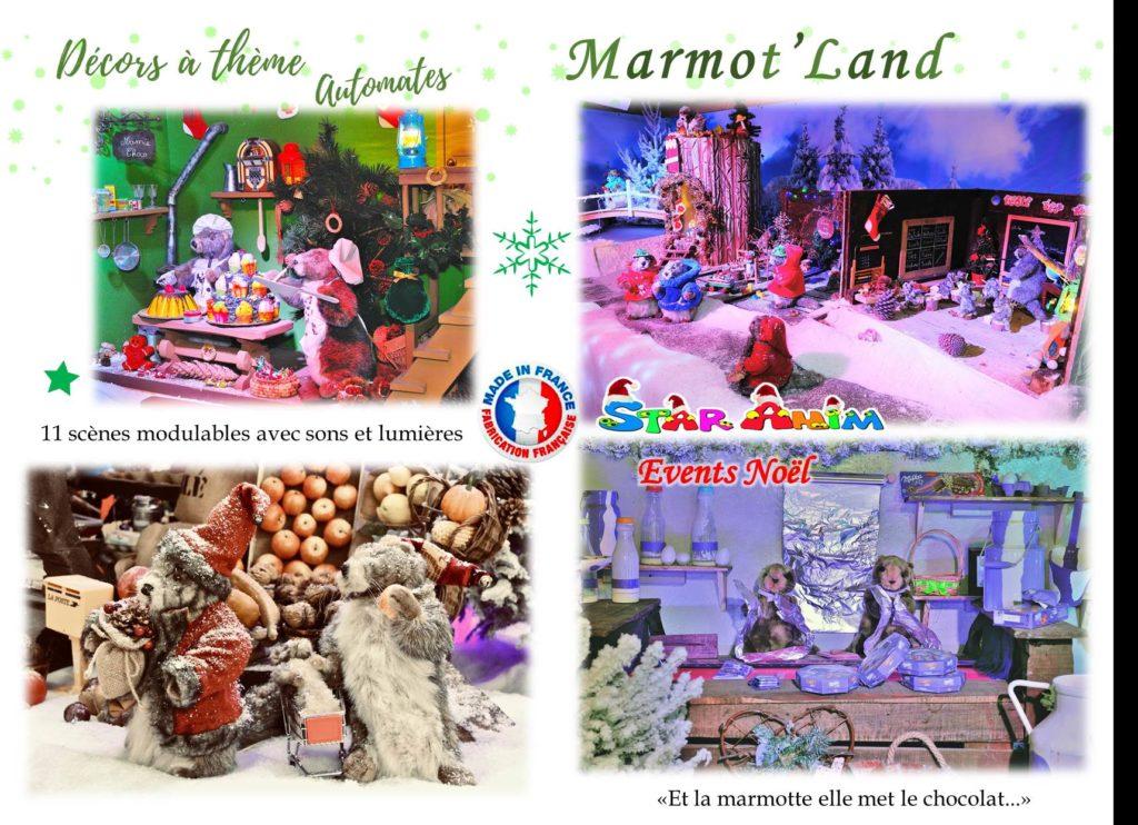 marmot land decors de noël