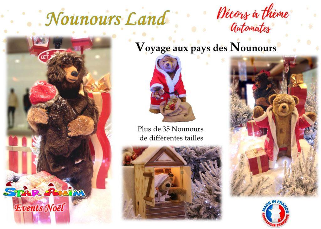 nounours land automates
