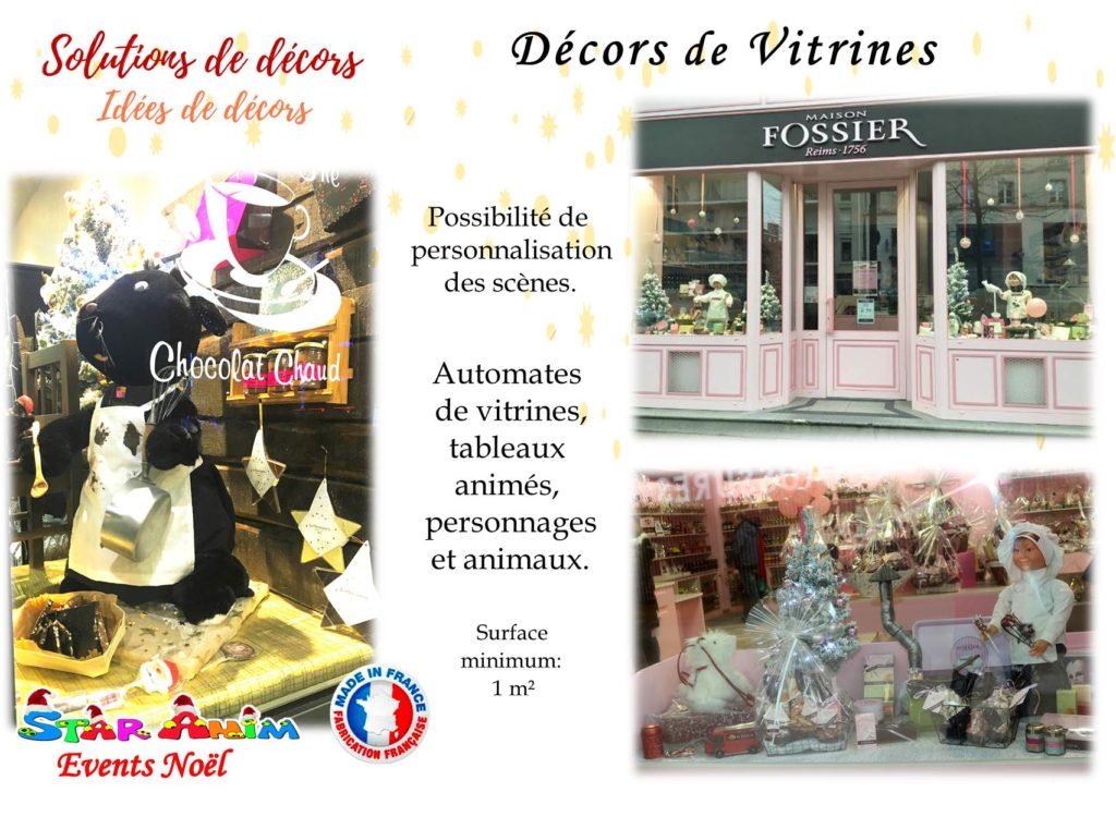 décors pour vitrines de magasin
